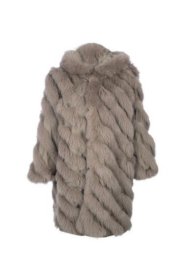 Silk and Cashmere Palto Vizon